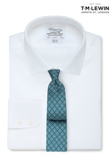 T.M. Lewin Non Iron White Oxford Slim Fit Shirt