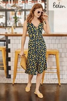 Boden Blue Effie Jersey Dress
