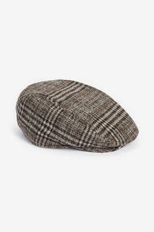 Check Flat Cap (Younger)