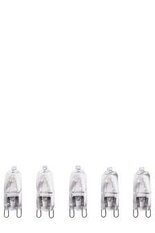5 Pack 28W G9 Halogen Bulbs