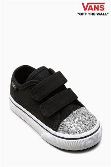 Vans Glitter Toe Velcro