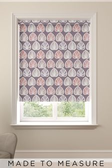 Clara Grape Purple Made To Measure Roller Blind