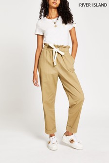 River Island Sand Jogger Jeans