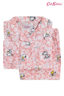 Cath Kidston® Snoopy Paper Ditsy Kids Woven PJs
