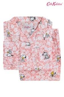 Kvietkované detské pyžamo Cath Kidston® Snoopy Paper