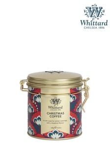 Whittard Of Chelsea Christmas Coffee Cliptop Tin