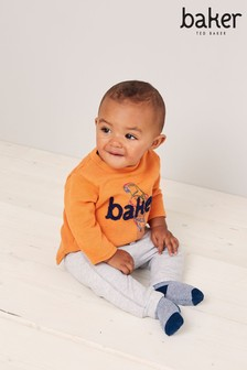 Baker by Ted Baker Baby Boys Grey Marl Joggers