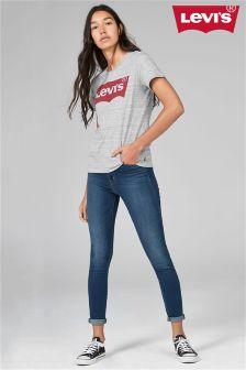 Levi's® Mid Wash Mile High Super Skinny Jean