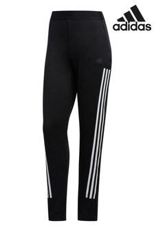 Черные теплые спортивные брюкиadidas