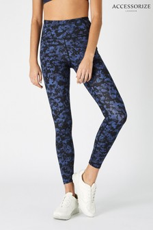 Accessorize Multi Full-Length Printed Gym Leggings