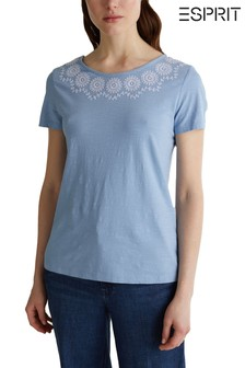 Esprit Blue Casual T-Shirt