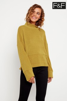 F&F Olive Green Button Detail Top