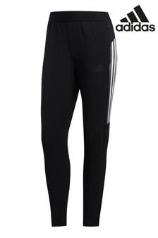 Черные спортивныебрюки с3 полоскамиadidas