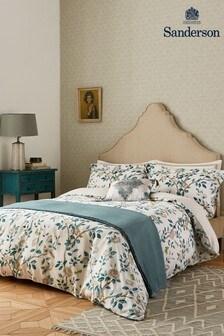 Sanderson Teal Andara Oxford Pillowcase