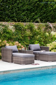 Selbourne Double Lounger Set By Garden Trading