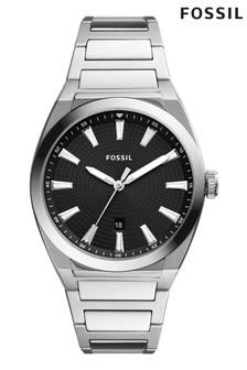 Fossil Silver Tone Everett Watch