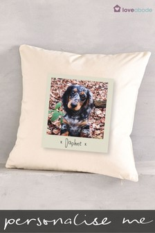 Personalised Snapshot Cushion by Loveabode