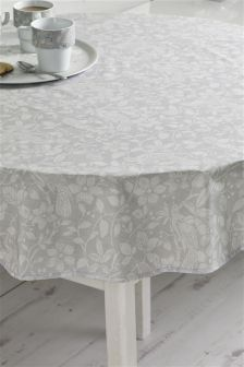 Song Bird Wipe Clean PVC Tablecloth