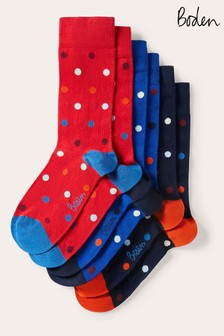 Boden Blue Favourite Socks