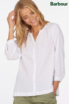 Barbour® Coastal Broderie Anglaise Folkstone Blouse
