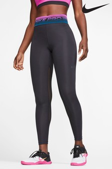 Nike Pro Black Printed Leggings
