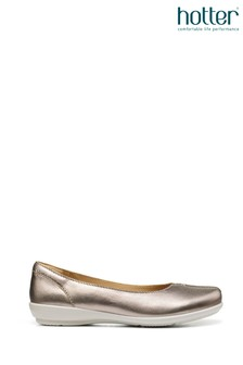 Hotter Robyn Slip On Pump Shoes