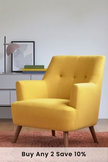 Carter Armchair With Mid Legs