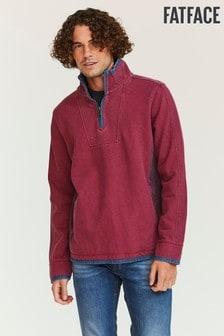 FatFace Purple Airlie Pocket Sweater