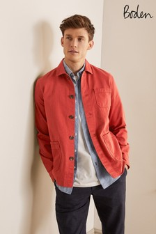Boden Red Kentmere Overshirt
