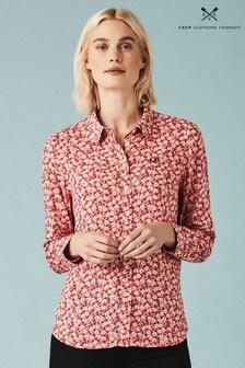 Crew Clothing Company Orange Agnes Shirt