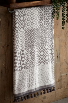 Tile Print Geo Towels