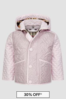 Baby Girls Pink Jacket