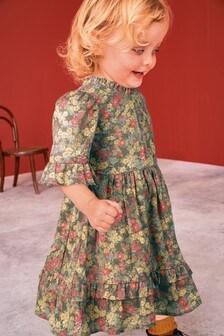 Floral Prairie Tiered Dress (3mths-7yrs)