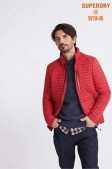 Superdry Red Packaway Fuji Jacket