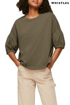 Whistles Oversized Sleeve T-Shirt