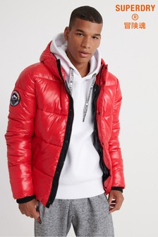 Superdry High Shine Bomber Jacket