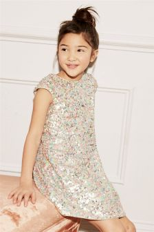 Sequin Dress (3-16yrs)