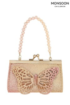 Monsoon Gold Ombre Butterfly Mini Bag