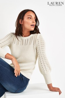 Lauren Ralph Lauren® Cream Jumper