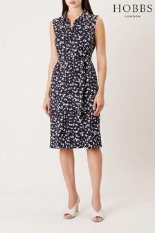 Hobbs Blue Laurena Dress