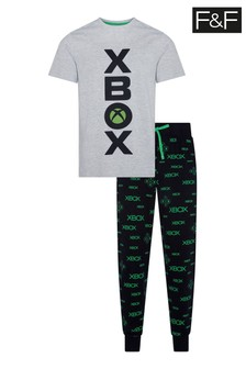 F&F Microsoft Xbox Grey Set