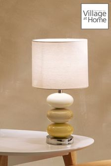 Village At Home Esme Ochre Table Lamp