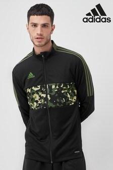 adidas Black/Camo Tiro Track Jacket
