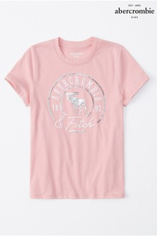 Abercrombie & Fitch Blush Logo T-Shirt