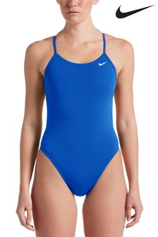 Nike Poly Solid Cut Out Swimsuit