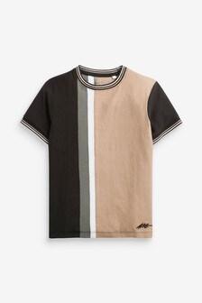 Colourblock Short Sleeve Jersey T-Shirt (3-16yrs)