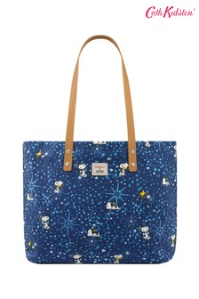 Cath Kidston® Snoopy Midnight Stars Brampton Large Tote Bag