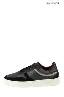 GANT Black Detroit Low Lace Shoes