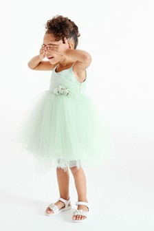 Corsage Bridesmaid Dress (3mths-7yrs)