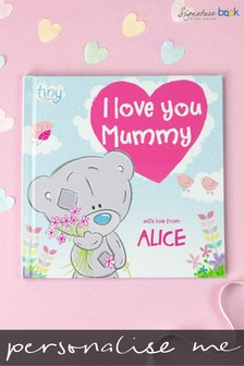 Personalised Tiny Tatty Teddy I Love You Mummy Book by Signature Book Publishing